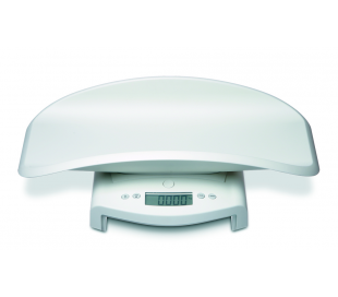 SECA 354 Electronic baby scales with fine graduation, also usable as flat scales for children