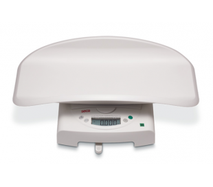 SECA 384 Electronic baby scales with fine graduation, also usable as flat scales for children
