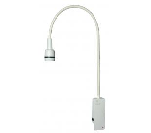 Lámpara de exploración EL 3 LED con soporte mural- HEINE